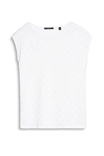 ESPRIT Collection Damen T-Shirt Weiß (Off White 110)