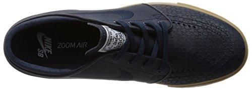 Nike Zoom Stefan Janoski L, Chaussures de Skate Homme, Varios Drk Obsdn/Drk Obsdn/White/Gm L