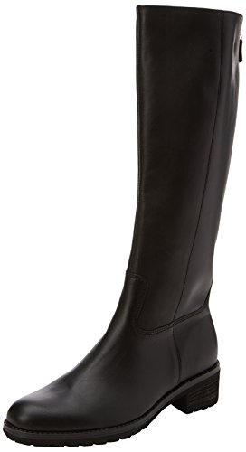 Gabor Shoes Damen Fashion Stiefel, Schwarz (27 Schwarz (Glitter)), 38 EU (Damen Schwarz Stiefel Fashion)