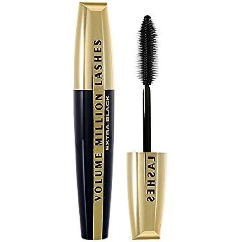 L'Oréal - Volume Million Lashes Extra-Black - Máscara de pestañas - 1 unidad