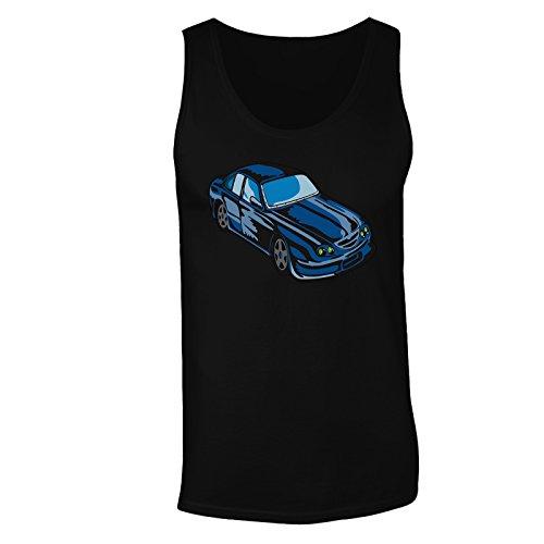 Ford Gt Auto Usa L'Arte Divertente Epoca canotta da uomo vv51mt Black