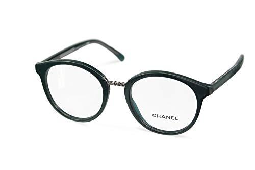 CHANEL Brillenfassung Brille CH3385 c.1459 green (50-20)