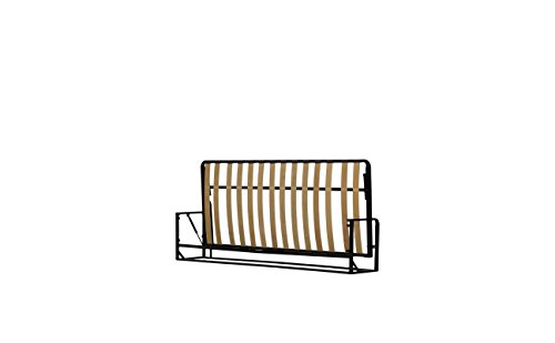 Wallbedking Cama De Matrimonio Abatible Horizontal 90 x 190 cm (Cama Doble...