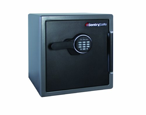 Cheapest SentrySafe SFW123FSC 34.8L Capacity Fire/ Water Resistant Electronic Safe with 1hr Resistance