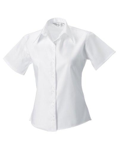 Russell Collection - Sweat à capuche -  Femme petit Blanc - Blanc