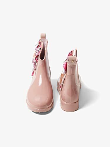 TOM TAILOR für Frauen Schuhe Kurze Gummistiefel mit Schleife Rose, 39