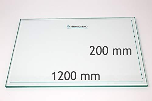 Glasplatte/Glasregal - Klarglas 8 mm stark - alle Maße lieferbar - Direkt vom...