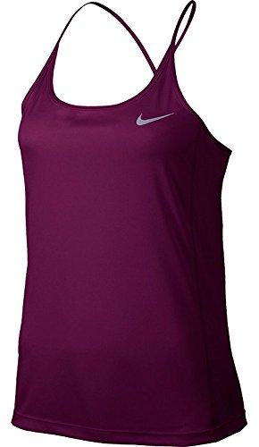 Nike Dry Miler Damen Lauf-Tanktop,True Berry/Reflective Silver,M Preisvergleich
