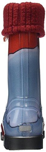 Toughees Shoes Character Welly With Removable Sock, Bottes de Pluie mixte enfant Rouge