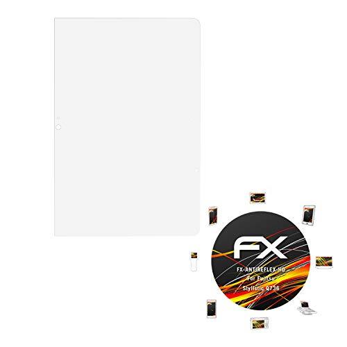 atFolix Schutzfolie kompatibel mit Fujitsu Stylistic Q736 Bildschirmschutzfolie, HD-Entspiegelung FX Folie (2X)