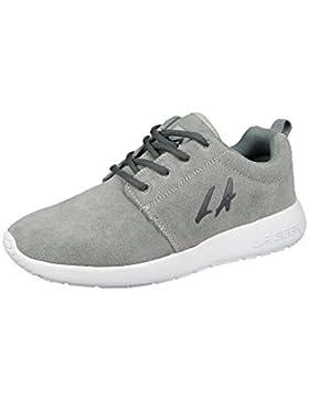 LA Gear sneakers Alba Grigio L38-3609-01 Grigio Nero Jersey