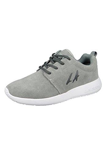 LA Gear sneakers Alba Grigio L38-3609-01 Grigio Nero Jersey, LA Gear Damen:37