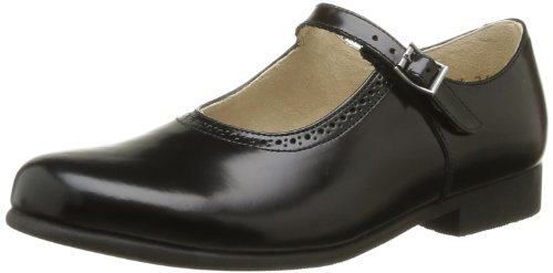 Start Rite - Scarpe elegante Clare, Bambina, Nero (Noir (Black Leather)), 27