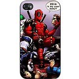 Deadpool Is My Year Baby Case / Color Black Plastic / Device iPhone 4/4s