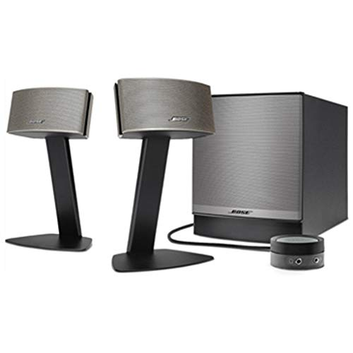 Bose Companion 50 - Sistema de altavoces multimedia, Negro / Champagne