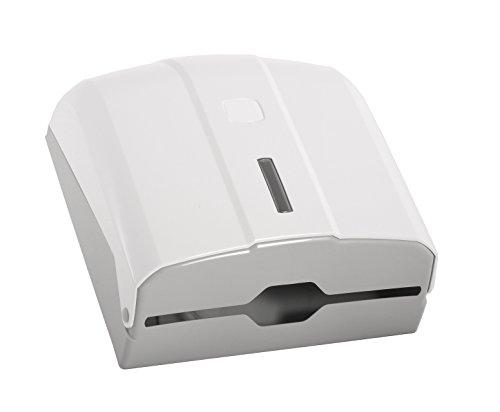 SemyTop ST-5010 Falthandtuch-Spender, Weiß, 285 x 270 x 100 mm