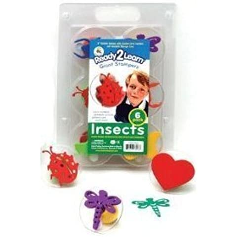 Center Enterprises Giant Stampers Insects Set -