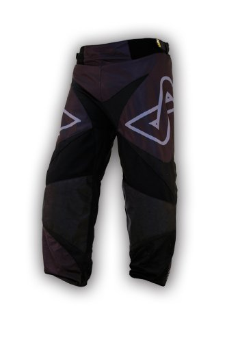 Alkali Hockey CA7Roller Hose, herren Damen Jungen, schwarz / schwarz, Senior X-Large