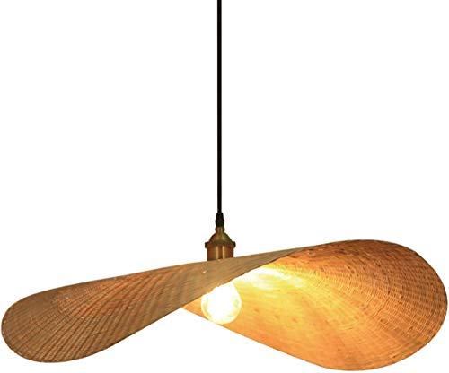 Bambus Pendelleuchten Kreative Pendelleuchten, LED Kronleuchter, Beleuchtung von Kreativkunst Licht von Hotel Gas Thausvilla (ohne Glühbirne) Material: Spezial Südostasienn Bamboo Art, 50 CM -