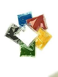 Pulverfarben 6 x 15ml fettlöslich für Schokolade Teige Fondant