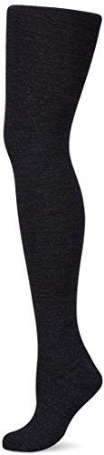 KUNERT Damen Strumpfhose Soft Wool Cotton, 100 Den, Grau (Anthrazitmel 4050), 45/46 (Herstellergröße: 45/47)