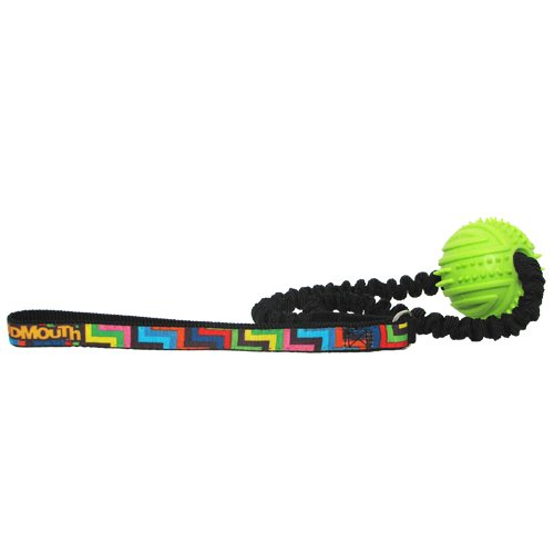 hunter-loudmouth-golf-steppin-out-rubber-ball-bungee-toss-toy-one-size-black