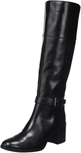 Geox D Glynna C, Bottes Classiques Femme Schwarz (BLACKC9999)