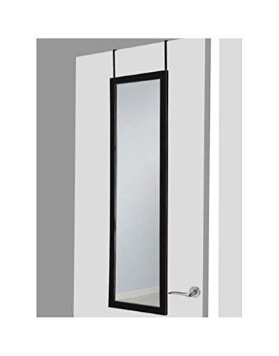 UNIMASA Hogar Mas- Espejo puerta negro sin agujeros