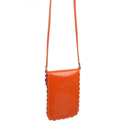 Ital-DesignSchultertasche bei Ital-Design - Borsa a spalla Donna Arancione (arancione)