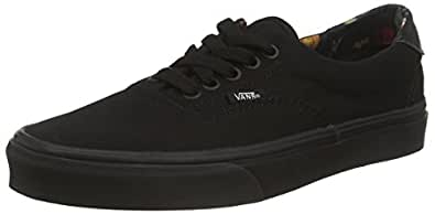 Vans  U Era 59 C L, Baskets montantes homme - Noir - Black (Black Bloom - Black/Black), 36