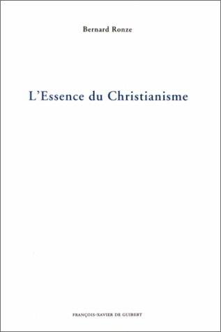 L'essence du christianisme