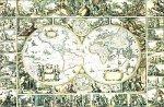 Yanoman - 1000 pièces - Ancienne carte du monde