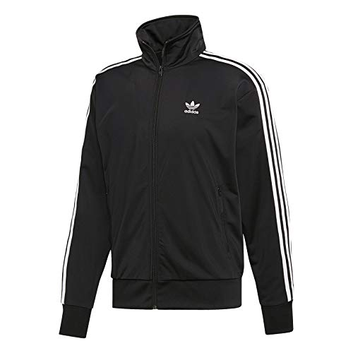 adidas Herren Firebird TT Sweatshirt, Black, 2XL (Adidas Firebird)