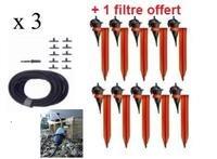 Kit réserve 30 Goutteurs Iriso avec supports + 1 filtre Offert