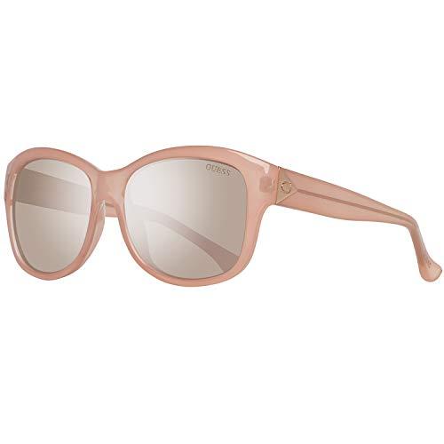 Guess Damen GF0259-5674G Sonnenbrille, Pink, 56