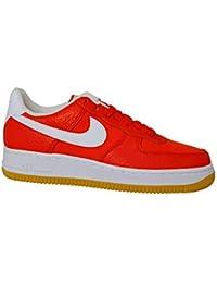 detailed look 72f17 38a78 Nike Air Force 1  07 Preimum - Habeanero Rosso e Bianco - 896185-601
