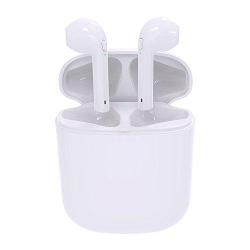 Proze i8 Oreillettes Véritable sans fil écouteurs Bluetooth V4.2 paire écouteurs TWS dans l'oreille écouteur stéréo pièce d'oreille avec mains libres micro charge magnétique pour Apple iPhone X/8/8 Plus/7/6/6S/Android/Samsung Galaxy