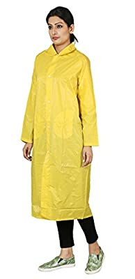 Zacharias Women's Raincoat with Cap Yellow
