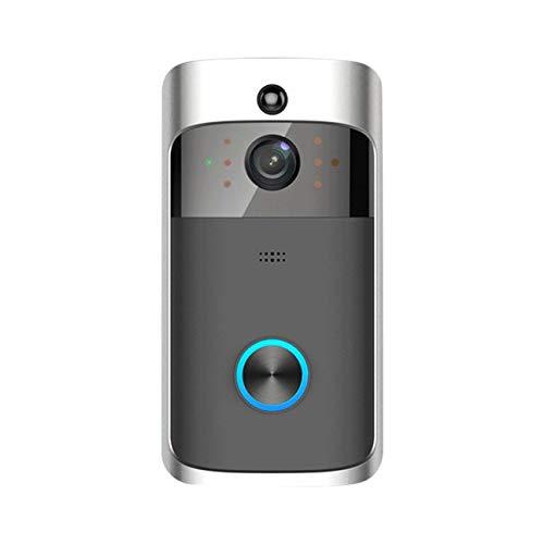 M3 wireless video campanello wifi rilevamento interfono a distanza sicurezza domestica elettronica monitor hd visibile visore notturno citofono nero