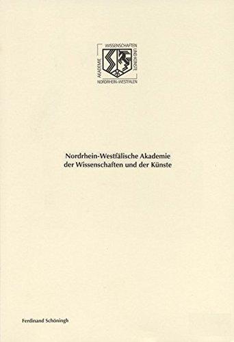 Spielarten des Marcionismus in der Geistesgeschichte des 20. Jahrhunderts. (Nordrhein-Westfälische Akademie der Wissenschaften und der Künste - Vorträge: Geisteswissenschaften)