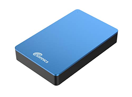 Sonnics Externe Desktop-Festplatte USB 3.0 für Windows PC, Mac, Smart TV, Xbox One und PS4 blau 1.5TB -