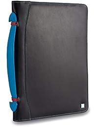 4ab884139c Cartella portadocumenti in pelle multicolore porta iPad di DUDU Nero