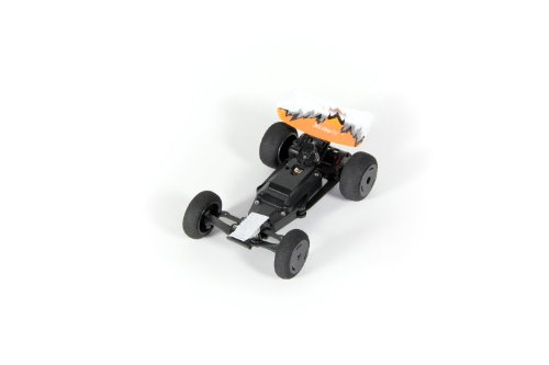 XciteRC 30802000 - High-Speed Racebuggy, 2WD Ready to Race Modellauto, 1:32 mit 2.4 GHz Fernsteuerung, orange/weiß/silber - 4