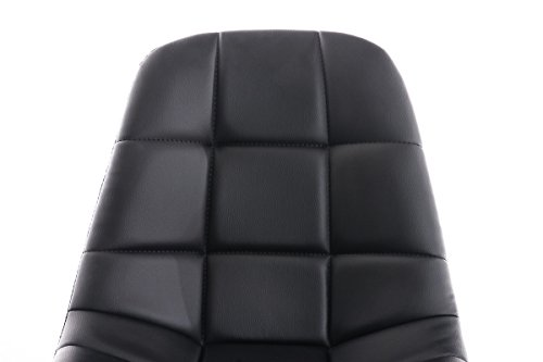 Clp sedia da ufficio emil in similpelle trapuntata poltroncina da