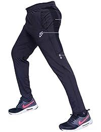 Men's Slim Fit Trackpants (sai-002_Black_X-Large)