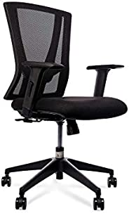 Wipro Furniture That's It Medium Back Executive Office Chair with Advanced Synchro Tilt Mechanism and Heig