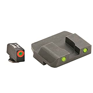 Ameriglo Spartan Operator Sight Set for Glock 17/19, Yellow by AmeriGlo