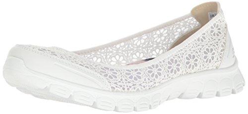 Skechers EZ Flex 2 Sweetpea Damen Geschlossene Ballerinas White