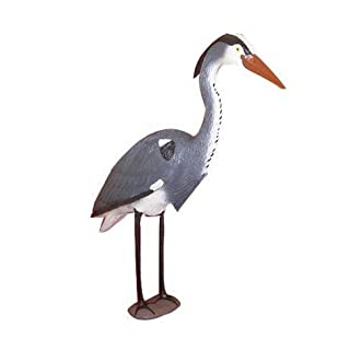 Artificial Heron Decoy Deterrent Scarer