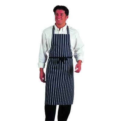 dennys-navy-blue-butchers-stripe-apron-100-cotton-long-ties